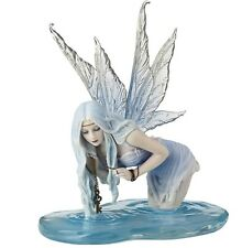"""6.5"""" Fishing For Riddles By Selina Fenech Statue Decor Fantasy Sculpture"""