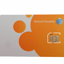 AT&T MICRO SIM CARD NEW Go Phone or Contract OEM ATT GENUINE