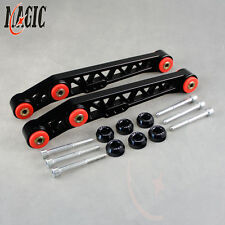 Racing Rear Lower Control Arms LCA For Honda Civic EG 92-95 + Bushing Washers
