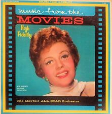 MAYFAIR ALL-STAR ORCHESTRA MUSIC FROM THE MOVIES LP 196? RITA HAYWORTH ON JACKET