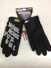 Mechanix Wear Gloves-Large Black-MG-05-010 Mechanic gloves Synthetic Leather-NEW