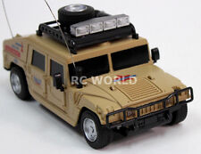 R/C 1/24 Radio Control HUMMER AM General MILITARY HUMVEE RC Truck +LIGHTS Desert