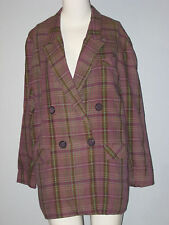 I. VAN RYB pour IDEM Paris Size L Purple Blazer (Made in France)