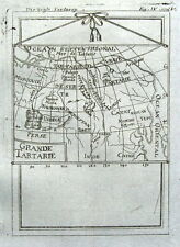 ASIA, GRAND TARTARY, Allain Mallet original antique  map 1719