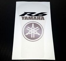 Yamaha R6 Custom Clear Tank Pad / Protector - Removable!