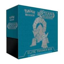 POKEMON TCG STEAM SIEGE ELITE TRAINER BOX ENGLISH NEW INCLUDES BOOSTER PACKS