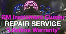 2003-2006 GMC Sierra Speedometer Instrument Cluster Gauge REPAIR SERVICE +LED