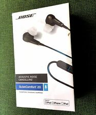 BOSE QC20 QuietComfort 20 Noise Cancelling iOS NEW SEALED 100% Genuine