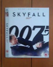 Daniel Craig's James Bond: Skyfall Blu-Ray Slipcover/Slipcase Only (NO FILM) NEW