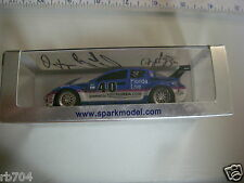 2010 ROLEX GT PATRICK DEMPSEY RACING 1/43 Visit Florida MAZDA RX-8 SIGNED