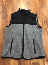 Gap Grey/black Vest Women's XS Cute
