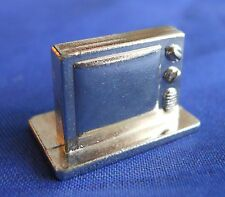 Scene It? TV Deluxe Edition Old Television Silver Replacement Game Piece Token
