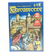 The Carcassonne Board Game 2-5 Players Cards Game with River Expansion Pack