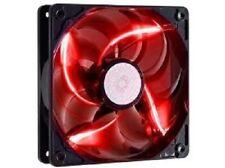 Cooler Master SickleFlow 120mm Red LED Computer Case Fan 19 dB cooling Silent