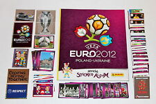 PANINI EM EURO 2012 – completamente frase Complete set + Album International version!
