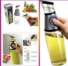 Olive Oil & Vinegar dispenser Bottle with Press & Measure RRP £19.99 Free P&P