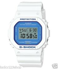 DW-5600WB-7C White Blue Casio G-shock Unisex Watches 200m Resin Band Classic New