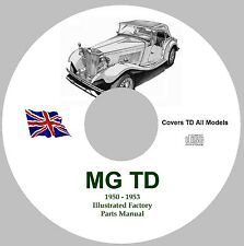 MG TD Factory Parts Manual