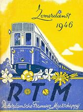 ART PRINT POSTER TRAVEL TRAM ROTTERDAM NETHERLANDS HOLLAND NOFL1400