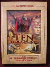 The Ten Commandments - 50th Anniversary Collection (DVD, 2006, 3-Disc Set)