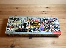 The Beatles Anthology 1000 piece jigsaw puzzle 2009 by Aquarius Preowned! Nice!