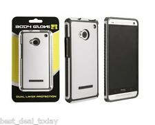 OEM Body Glove Tactic Case Cover Fit For HTC One 1/M7 White Charcoal GSM CDMA