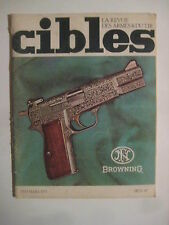 CIBLES n° 43 - SMITH & WESSON Mle 15 - PM MAS 1924 - PETRINAL FRANCAIS - COLT