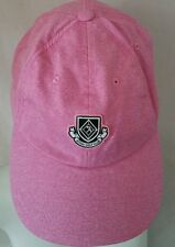 American neddle women's pink adjustable baseball hat Beach/golf(#8773)