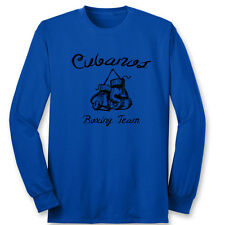 Cubanos Boxing Team cool Fighter T-shirt Boxer Ring Trainer Cuba Long Sleeve Tee