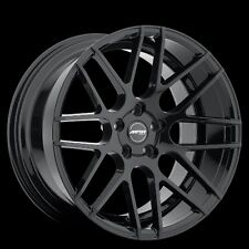 MRR GF7 18x8/9 5x112 ET45 Gloss Black Wheels Rims fit Mercedes E63 AMG 2010+