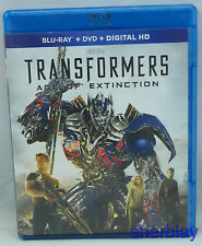 Transformers  Age of Extinction (Blu-ray DVD 2014  2-Disc Set  Includes Digital)
