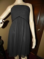 White House Black Market ~ Size 2 ~ Slrapless Ruched Bodice Dress ~ SUPER CUTE