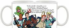 THE REAL GHOSTBUSTERS RETRO KIDS TV SHOW AND DVD MUG UK SELLER