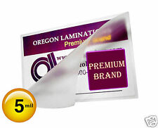 Hot Laminating Pouches 5 Mil 6 x 9 [25] Clear 6x9 Half Page