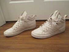 Used Worn Size 11 Adidas Top Court Mid Shoes White