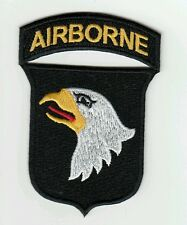 "Patch US 101st AIRBORNE  ""Screaming eagle"" WWII  - REPRO"