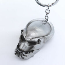 New Silver Color Predators Alien vs. Predator Mask Metal Keyring Keychain