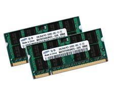2x 2GB 4GB DDR2 667Mhz für Fujitsu-Siemens AMILO Pro V3505 Notebook RAM SO-DIMM
