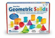 SCATOLA DANNEGGIATA Learning Resources view-thru solidi geometrici forme ler-4331