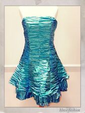 SONIC LONDON Blue Cinderella Princess Classic Prom Party Special Dress��UK 8✨36