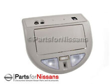 GENUINE NISSAN 2009-2012 TITAN OVERHEAD MAP LIGHT CONSOLE W/BLUETOOTH NEW OEM