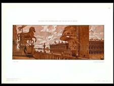 AFFICHE EXPOSITION VENISE -1907 - LITHOGRAPHIE, AUGUSTO SEZANNE