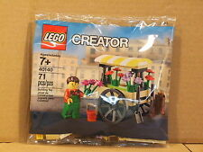 NEW! LEGO Sealed Creator FLOWER CART Polybag 40140 Poly Bag Town City