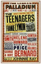 "Frankie Lymon and the teenagers Palladium 16"" x 12"" Photo Repro Concert Poster"