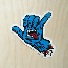 Santa Cruz Jim Phillips screaming hand shaka brah bro jimbo classic skateboard