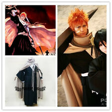 Bleach Cosplay Costumes New Kurosaki Ichigo Suit any size * Custom-made