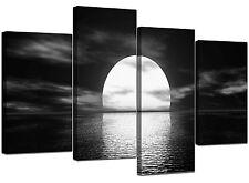 Grand mur blanc noir toile art photos 130cm Large Imprime XL   4003