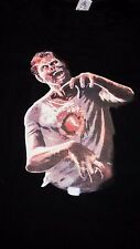 New Digital Dudz Beating Heart Interactive Zombie Shirt XL - Halloween Costume