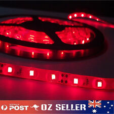 Waterproof Flexible 12V 5M 3528 300 SMD Red LED Strip Light DRL Car Boat Camping