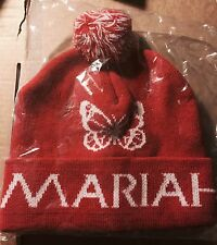 MARIAH CAREY OFFICIAL ALL I WANT FOR CHRISTMAS NYC TOUR 2015 HAT RARE BUTTERFLY